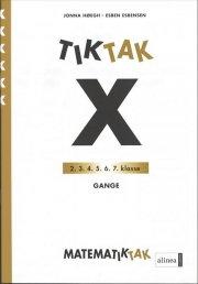 matematik-tak 6.kl. x-serien, gange - bog