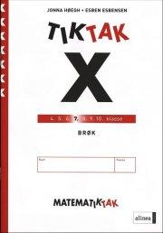 matematik-tak 7.kl. x-serien, brøk - bog