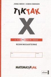 matematik-tak 7.kl. x-serien, regningsarterne - bog