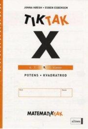 matematik-tak 9.kl. x-serien, ligninger - bog
