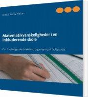 matematikvanskeligheder i en inkluderende skole - bog