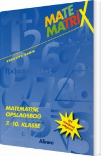 matematrix 7.-10.kl. opslagsbog - bog