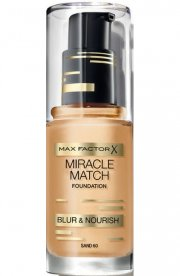 foundation - max factor miracle match foundation - sand - Makeup