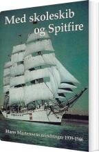 med skoleskib og spitfire - bog