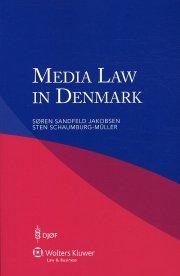 Søren Sandfeld Jakobsen - Media Law In  Denmark - Bog