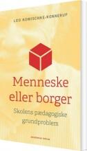 menneske eller borger - bog
