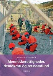 menneskerettigheder, demokrati og retssamfund - bog