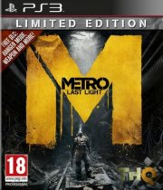 metro: last light - limited edition - PS3