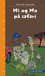 mi og mo på safari - bog