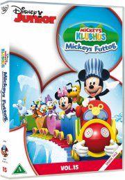 mickeys klubhus - mickeys futtog - DVD