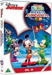 mickeys klubhus / mickey mouse clubhouse - mickeys rumeventyr - DVD