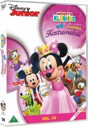 mickeys klubhus - minnies kostumebal - DVD