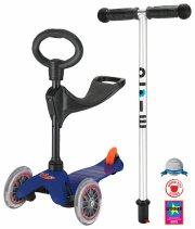 micro mini tre-i-en løbehjul - blå - Udendørs Leg