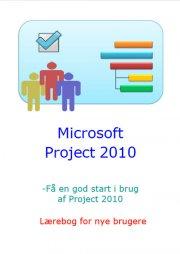 microsoft project 2010 - lærebog for nye brugere - bog