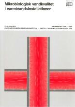 mikrobiologisk vandkvalitet i varmtvandsinstallationer - bog