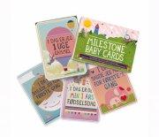 milestone baby cards / kort - dansk - Babylegetøj