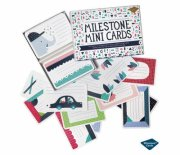 milestone baby cards / kort - mini - dansk - Babylegetøj