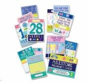 milestone pregnancy cards / kort - engelsk - Babylegetøj
