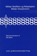 militær straffelov og retsplejelov - bog