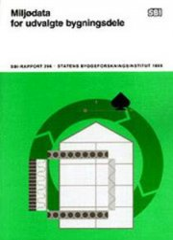 miljødata for udvalgte bygningsdele - bog