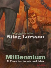 millennium 2: pigen der legede med ilden - bog
