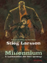 millennium 3: luftkastellet der blev sprængt - bog