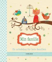 min familie - en mindebog for hele familien - bog