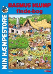 min kæmpestore rasmus klump findebog - bog