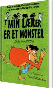min lærer er et monster - bog