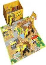 min lille byggeplads - aktivitetsæske - bog