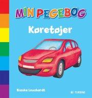 min pegebog - køretøjer - bog