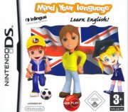 mind your language: learn english - nintendo ds