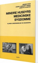 mindre husdyrs medicinske sygdomme - bog