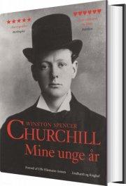 mine unge år - churchill - bog