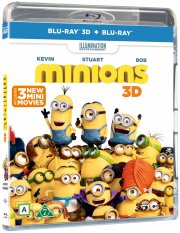 minions - 3d - Blu-Ray