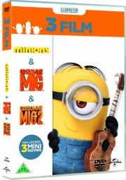 minions boks - 3 film - DVD