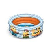 oppustelig badebassin / svømmebassin til haven - minions 100 cm - Bade Og Strandlegetøj
