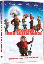 mission red julemanden / saving santa - DVD