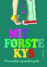 mit første kys - bog