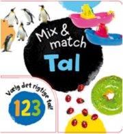 mix og match tal - bog