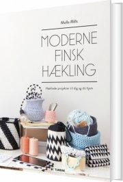 moderne finsk hækling - bog