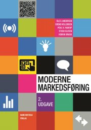 moderne markedsføring - bog