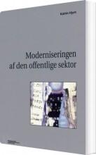 moderniseringen af den offentlige sektor - bog