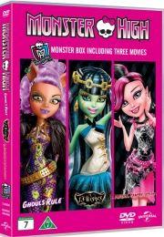 monster high boks - DVD