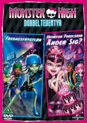 monster high: friday night frights // monster high: why do ghouls fall in love - DVD
