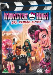 monster high: gys, kamera, action! - DVD