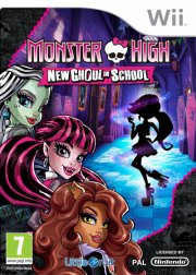 monster high: new ghoul in school - wii