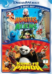 monsters mod aliens / kung fu panda - DVD