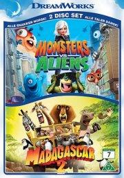 monsters vs aliens // madagascar 2 - DVD
