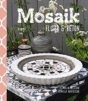 mosaik, fliser og beton - bog